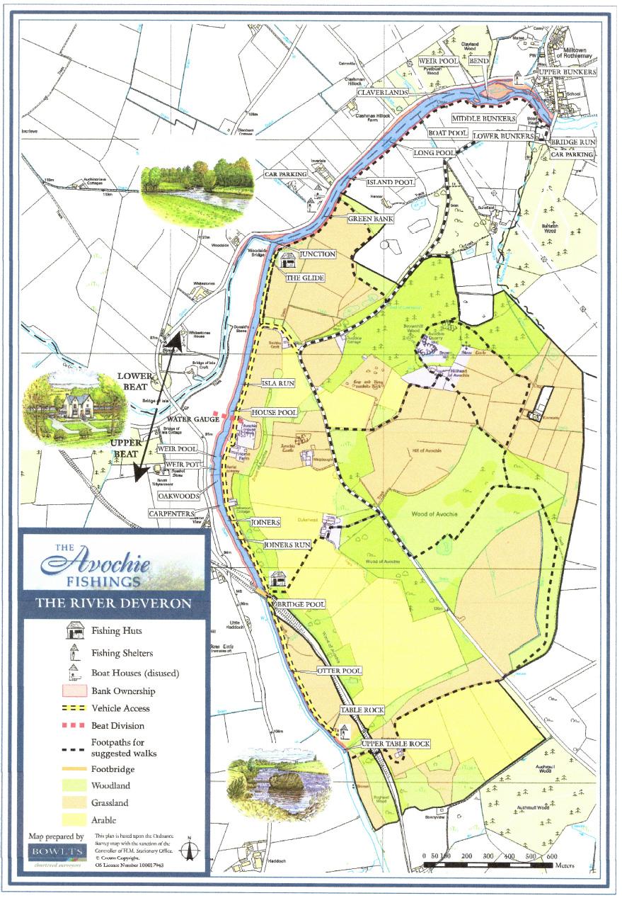 River Deveron Avochie beat map
